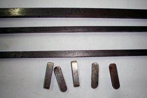 Materijali za klinove-kajle u kvalitetu C45